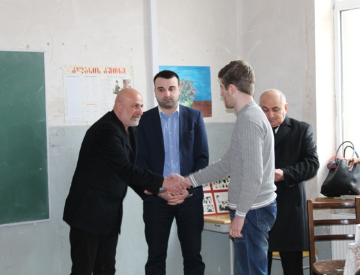 Shida Kartli State Representative-Governor congratulated Bachana Baliashvili the victory in the intellect-in, Etalon''