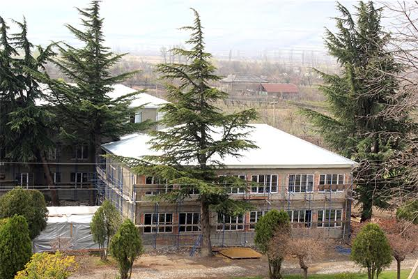Students of Okami Public School will start the New Academic year in rehabilitated school