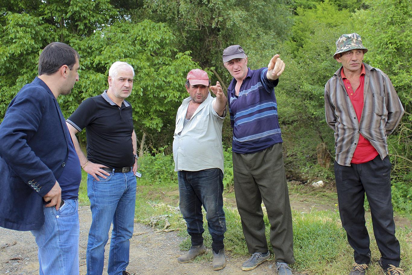 ზურაბ რუსიშვილმა სტიქიით დაზარალებული სოფლები მოინახულა