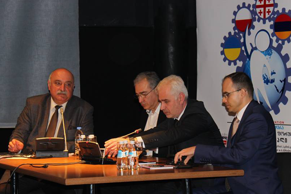 State Representative-Governor Zurab Rusishvili attended the  International Forum in Gori
