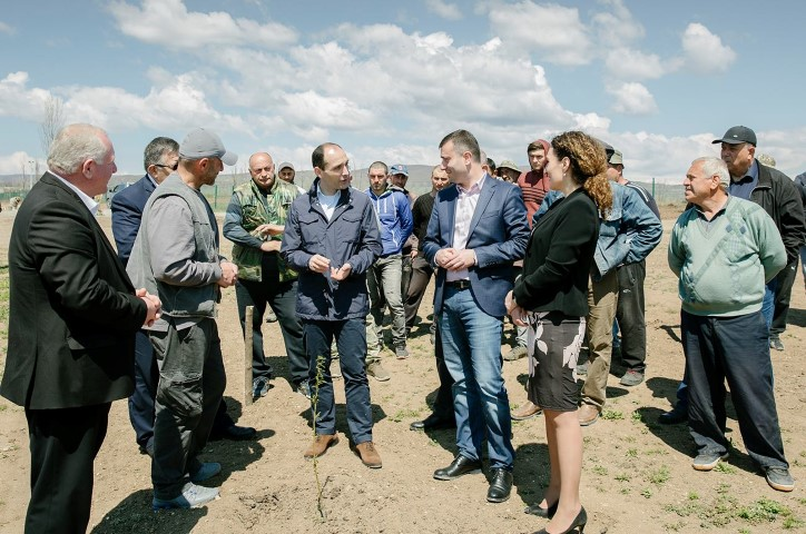 Farmers will benefit from additional support in villages located near the occupation  line