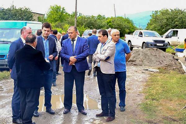 Water problems will be solved in the adjoining villages of occupation zone