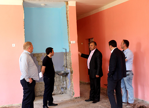 №3 Khashuri Kindergarten rehabilitation works will be finished in August of the current year